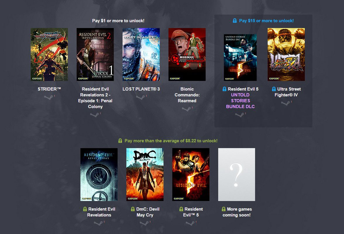 Humble Bundle Capcom
