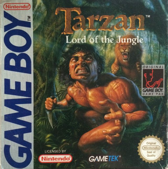 Tarzan Lord of the Jungle Gameboy
