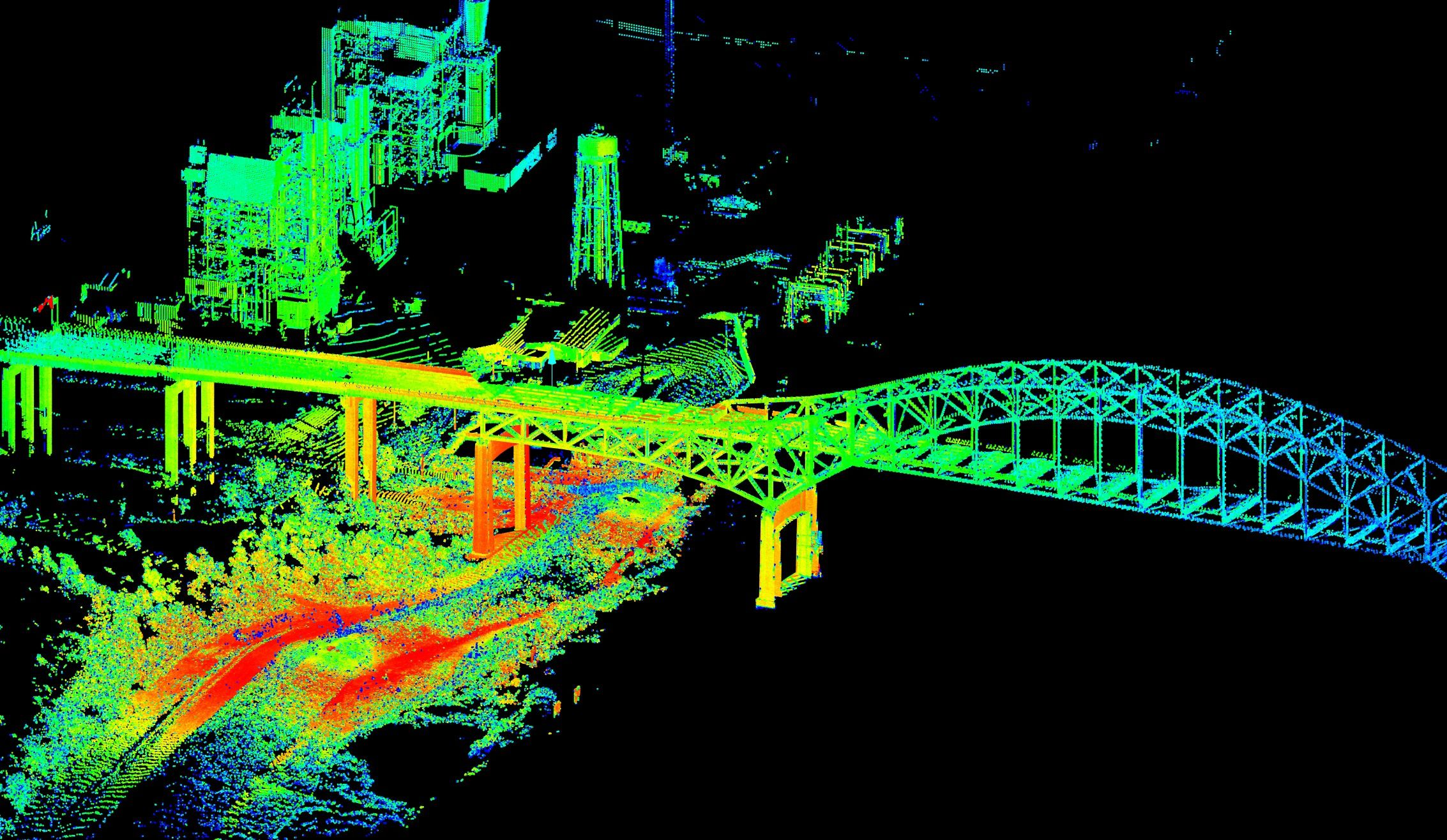 Terrestrial Lidar Software (Photo : LiDAR)
