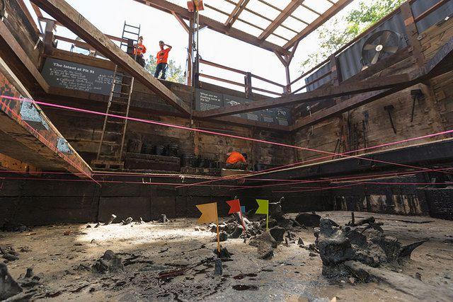 บ่อน้ำมันหนืด La Brea's Tar Pit คือขุมสมบัติแห่งวงการบรรพชีวิน น้ำมันรักษาโครงสร้างกระดูกของสัตว์ได้เป็นอย่างดี (Photo : Reviewjournal)