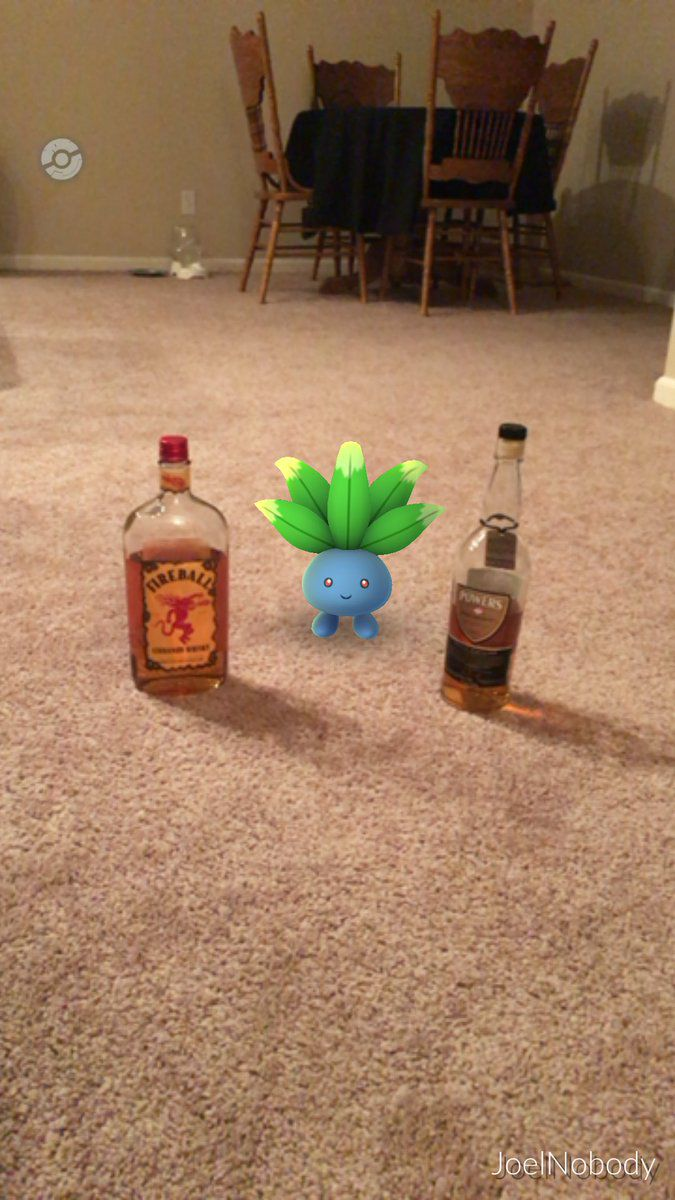 Pokemon-go-between-bottles