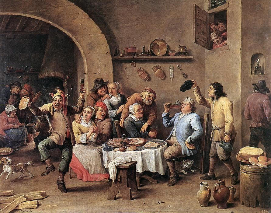 David_Teniers_(II)_-_Twelfth-night_(The_King_Drinks)_-_WGA22083