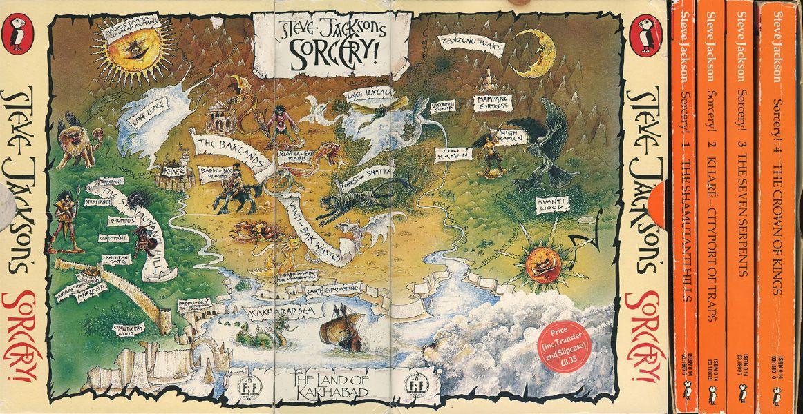 sorcery-books