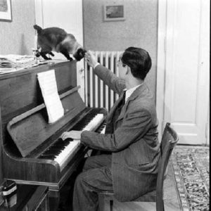 king-rama-ix-with-piano-and-cat